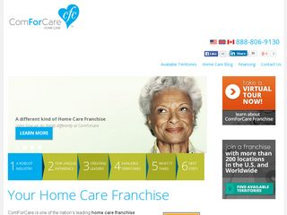 Senior Home Care Franchise Opportunities Canada