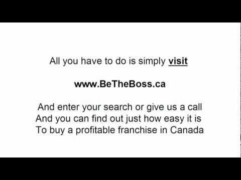 How to buy a franchise in Canada?
