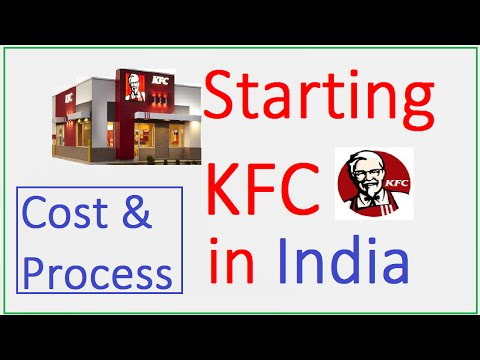 How to Start KFC Franchise in India